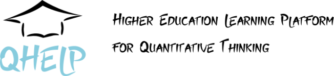 Logo of Higher Education Learning Platform for Quantitative Thinking